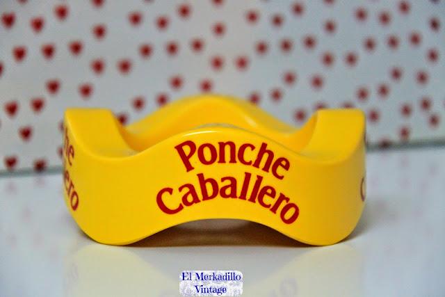 "Cenicero Vintage ""Ponche Caballero"""