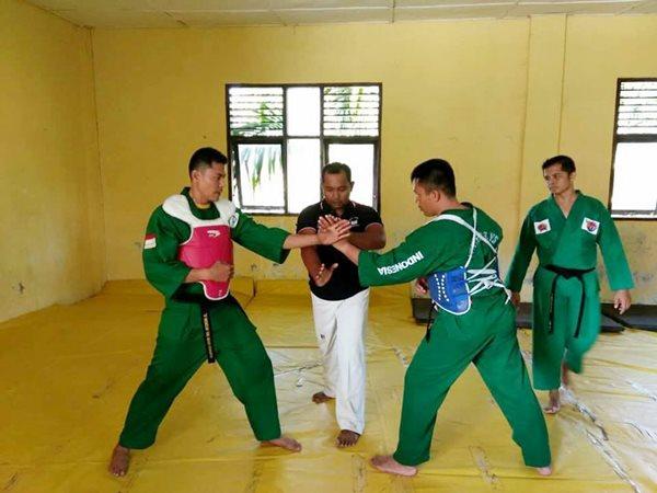 Kodim Pariaman Kirim 5 Atlet Yongmodo Ikuti Seleksi Korem Wirabraja