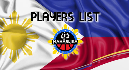 Complete List of Players: 2018 MPBL Anta Data Cup