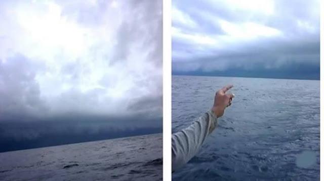Kesaksian Nelayan Makasar! Sebelum Tsunami, Fenomena Mengerikan Ini Terlihat di Selat Sunda