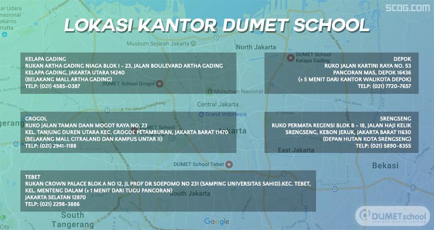 Lokasi Kantor Dumet School