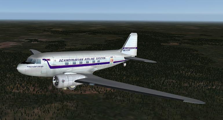 Urban's X-Plane experience: DC-3 SE-CFP