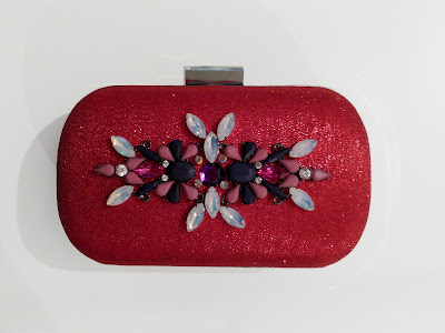 Bolso joya con pedrería colores