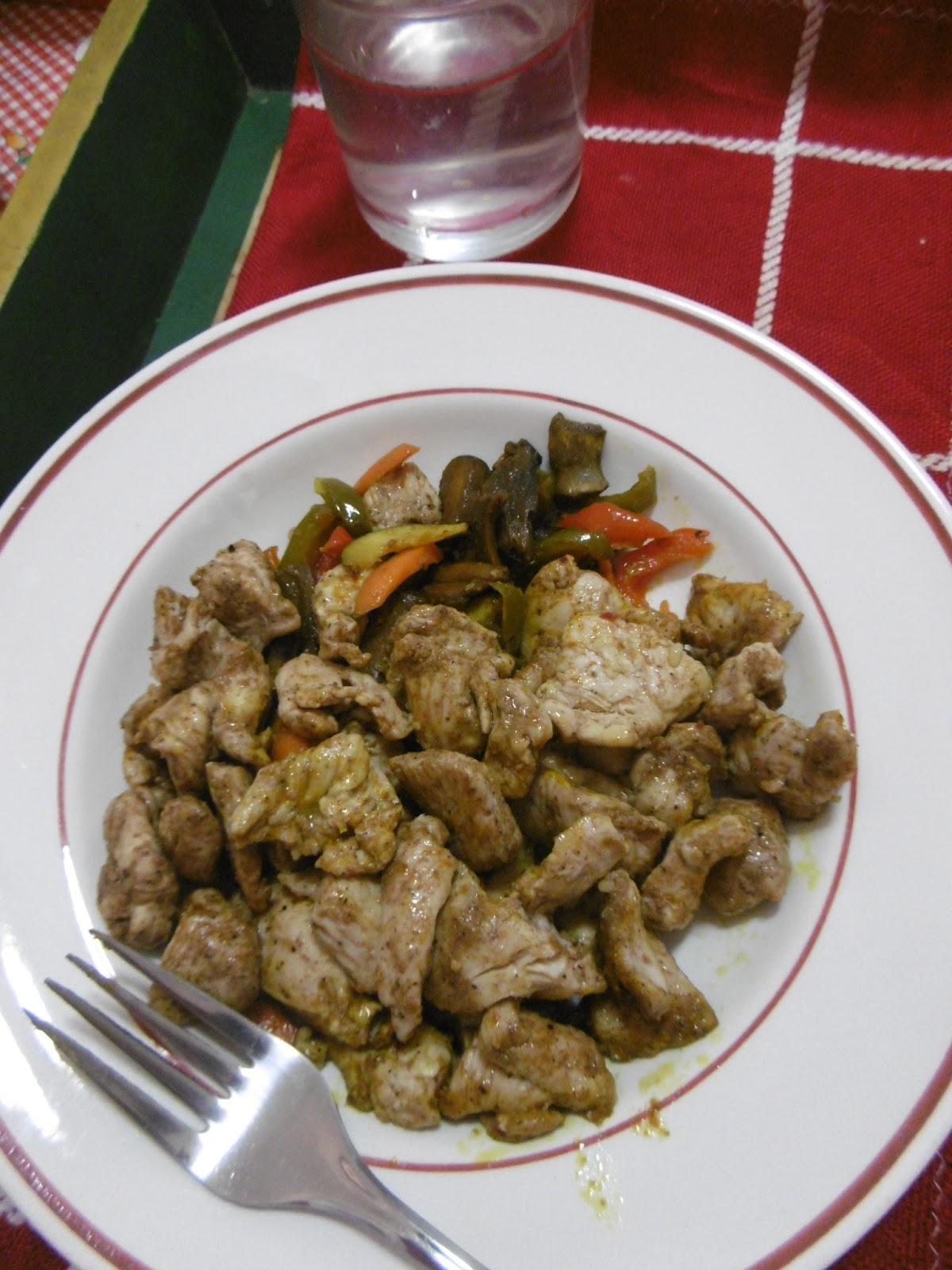 dieta disociada alitas asadas