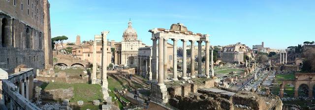 Foro en la antigua Roma y Derecho romano
