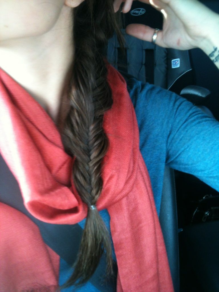 It Is What It Is: Fishtail Braid Your Own Hair!