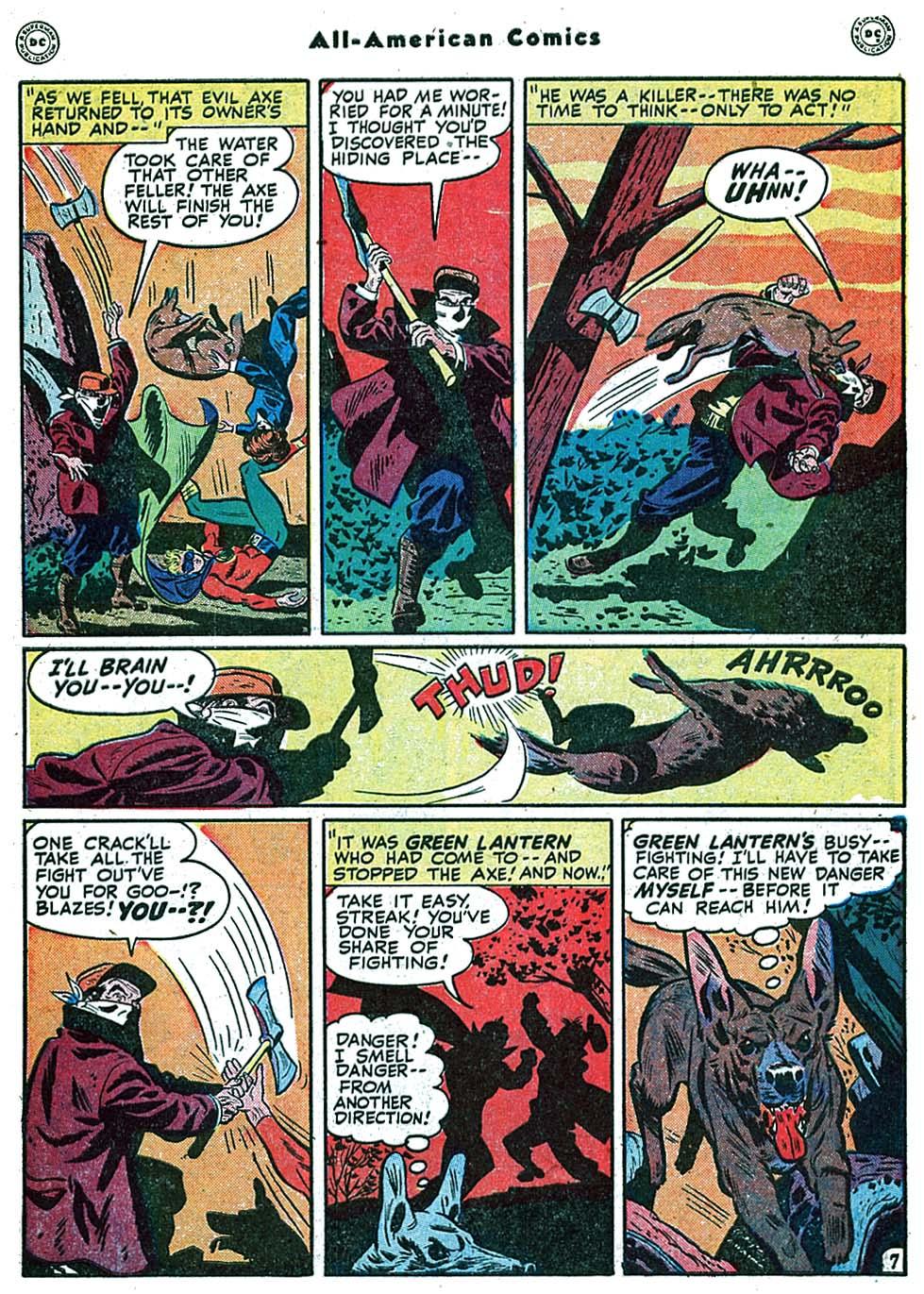 Read online All-American Comics (1939) comic -  Issue #99 - 9