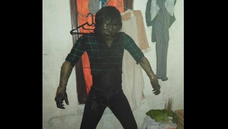 Ilustrasi bunuh diri dalam rumah