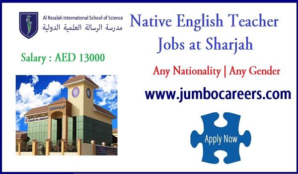 Sharjah jobs for Indians, Recent UAE job opportunities,