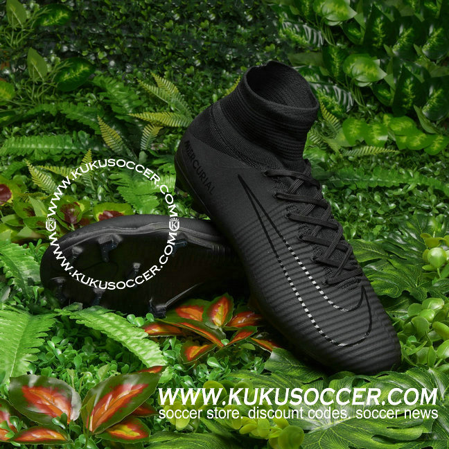7cbf08568caa1 Let's take a look at the cool version of the next-gen Nike Mercurial, which  Exclusive Releases Nike Mercurial Superfly V FG Black soccer shoes on sale  now ...