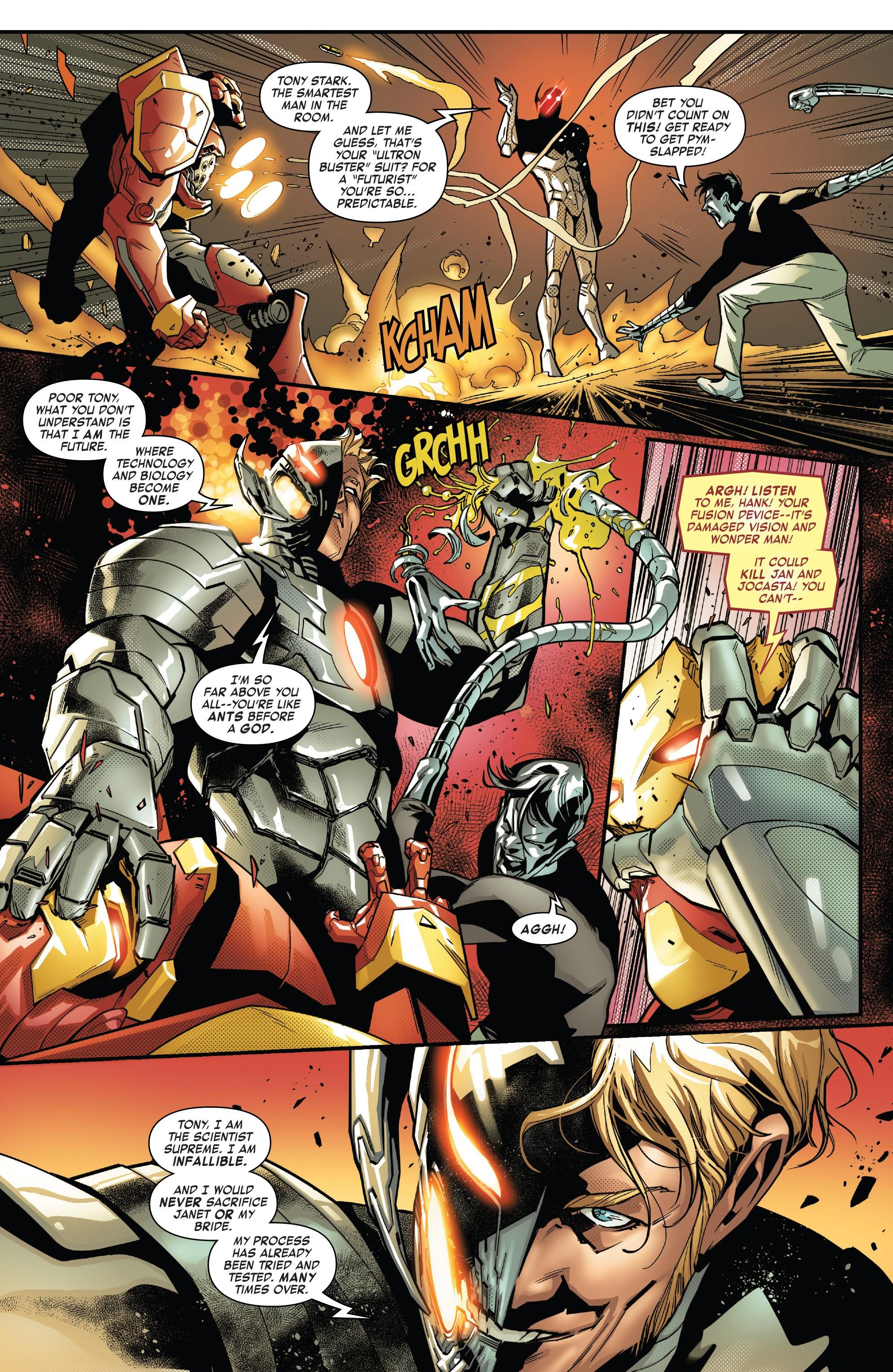 Read online Tony Stark: Iron Man comic -  Issue #16 - 16