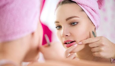 How to cure pimple under skin and get rid of pimples for beautiful face