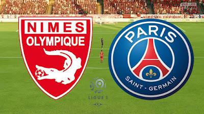 بث مباشر مباراة باريس سان جيرمان ونيم أولمبيك بث حي اليوم