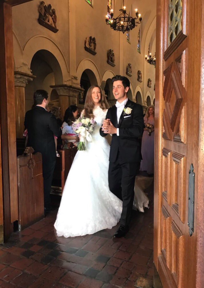 El cast de 'Los Hechiceros de Waverly Place' se reunió en la boda de David Henrie