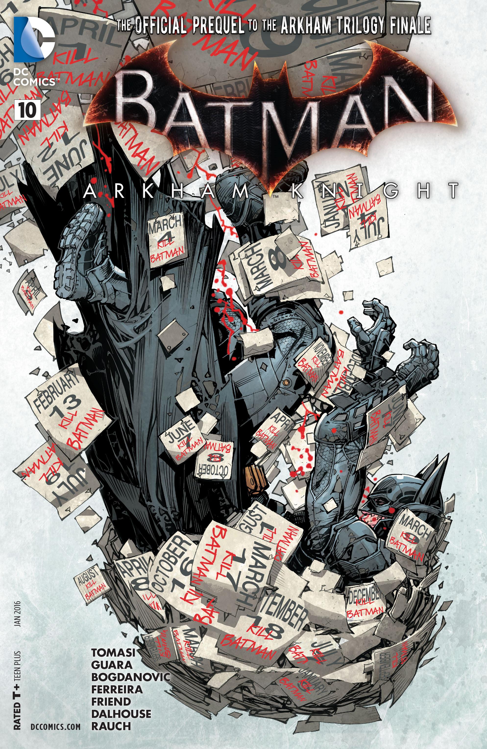 Batman: Arkham Knight [II] 10 Page 1