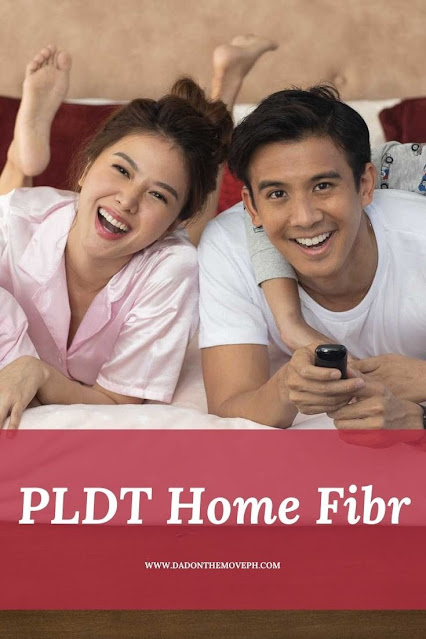Enjoy fast internet and great shows with PLDT Home Fibr