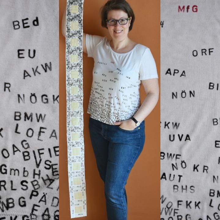 MfG Fanta4 als Inspiration für einen Quilt und ein Shirt