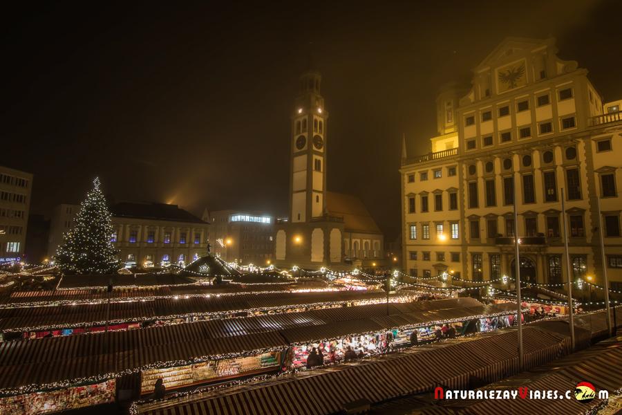 Mercado navidad Augsburgo