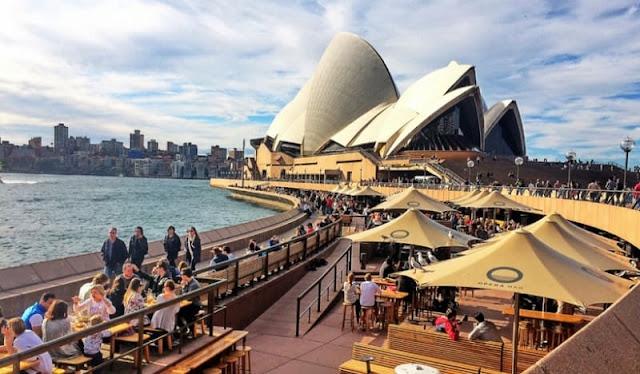 8 restaurantes de Sydney con vistas espectaculares