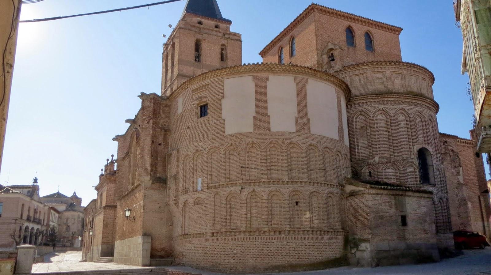 La Ruta de Isabel. Madrigal de las Altas Torres. Iglesia de Nicolás de Bari