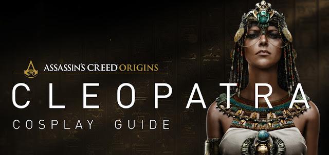 Convierte en Cleopatra con la guía de cosplay oficial de