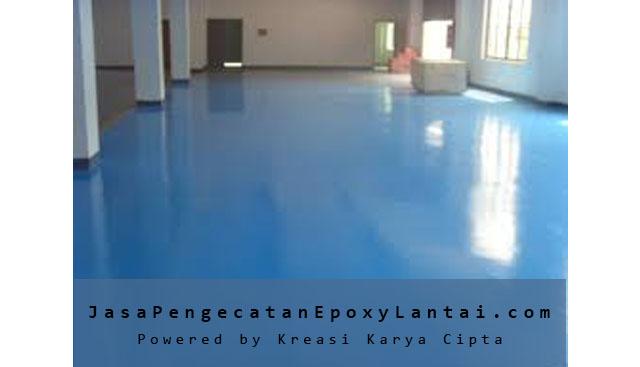 jasa pengecatan epoxy lantai terbaik bekasi