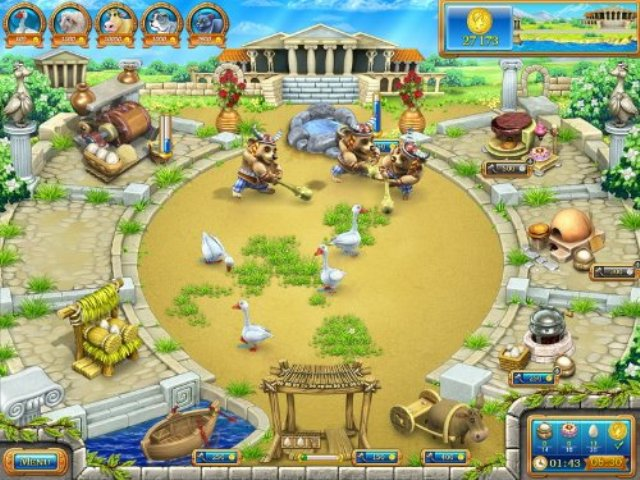 Farm Frenzy Ancient Rome PC Games Screenshots
