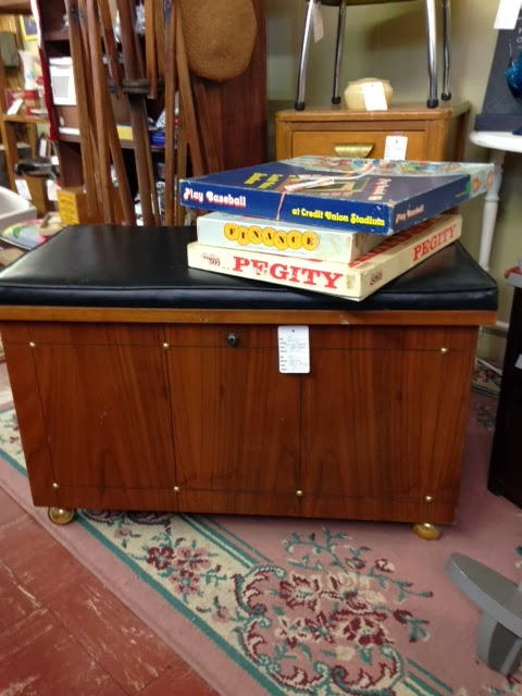 Deanie's Stash: Mid Century Lane Record Cabinet Chest