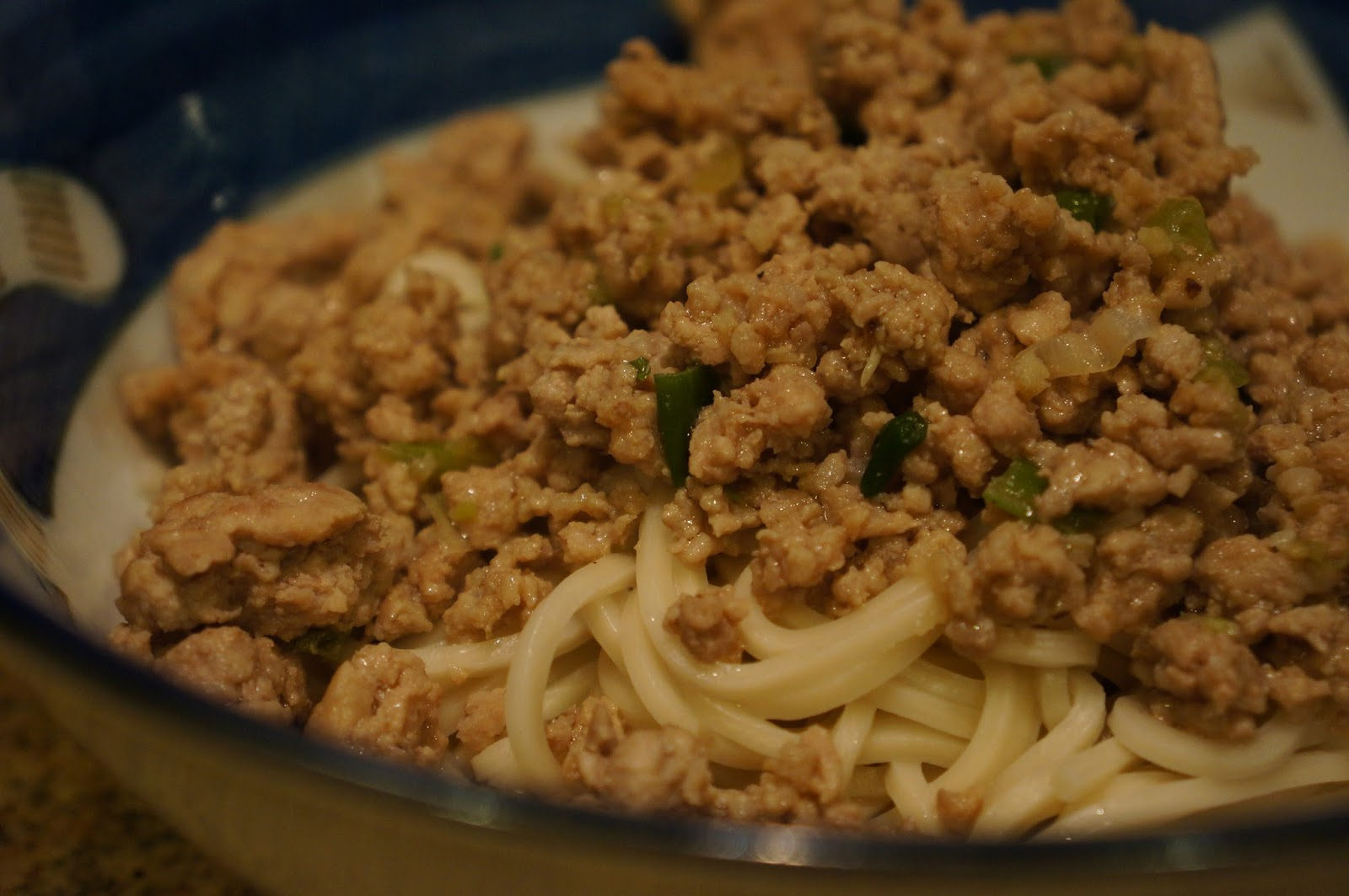 Chinese Spicy Noodle Soup with Ground Pork | Good food on a