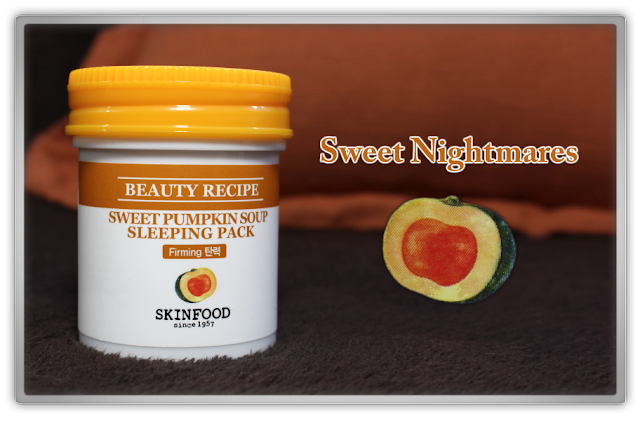 Skinfood Sweet Pumpkin Soup Sleeping Pack Haul Review 단호박 스프 슬리핑 팩 Beauty blog blogger korean kbeauty