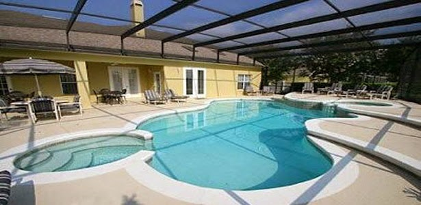pool home rentals in orlando near Walt disney world