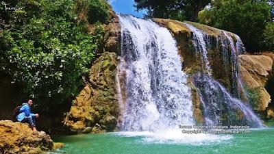 Air Terjun Toroan Madura.