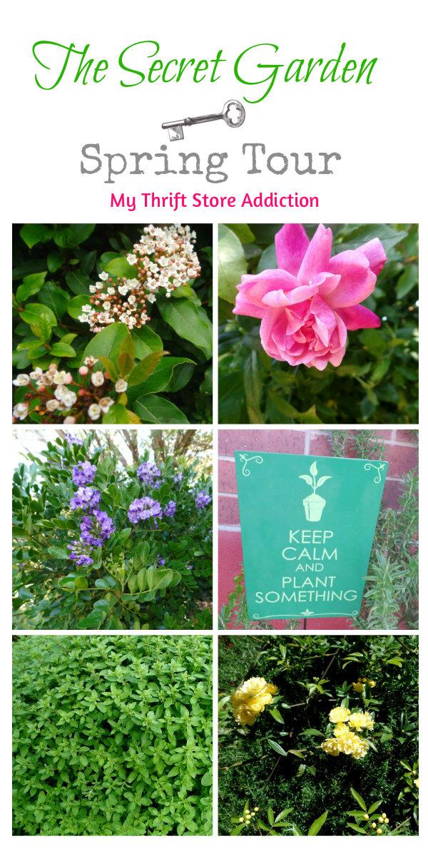 Signs of Spring at Secret Garden Herbs mythriftstoreaddiction.blogspot.com Spring garden tour