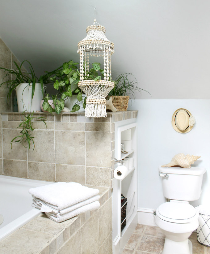 Best Paint For Bathrooms With Humidity: Our Beach Boho Master Bath