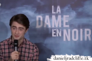 The Woman in Black press conference in Paris