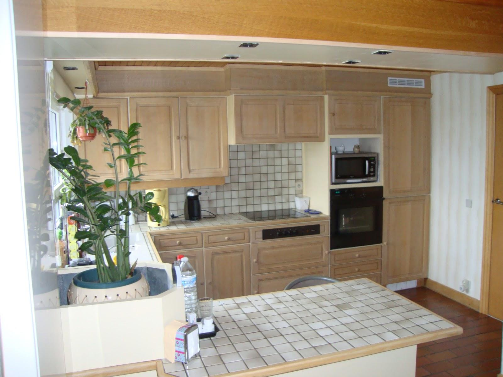Eiken keuken vernieuwen trendy eiken houten keuken wit gespoten