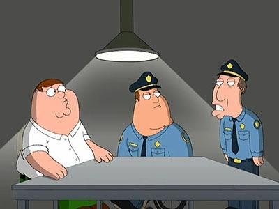 Family Guy - Season 6 Episode 3: Believe It Or Not, Joe's Walking On Air