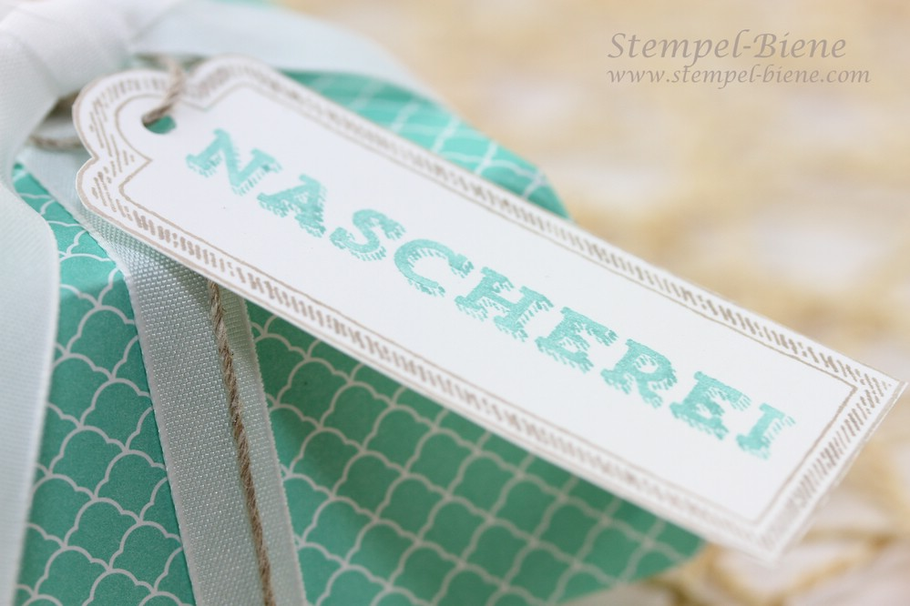 Stampin' up Bigz XL Hamburger-Schachtel