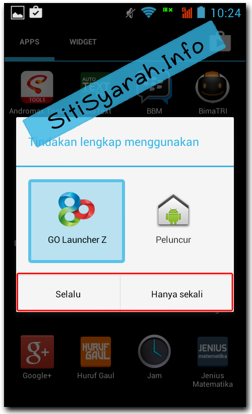 Cara Ganti Tema Android