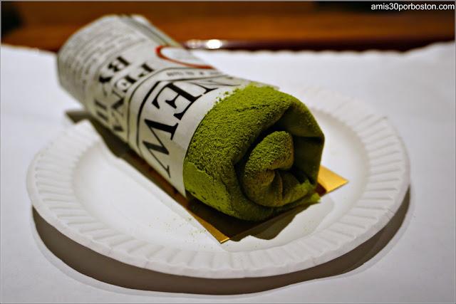 Matcha Crepe de Takahachi Bakery, Nueva York
