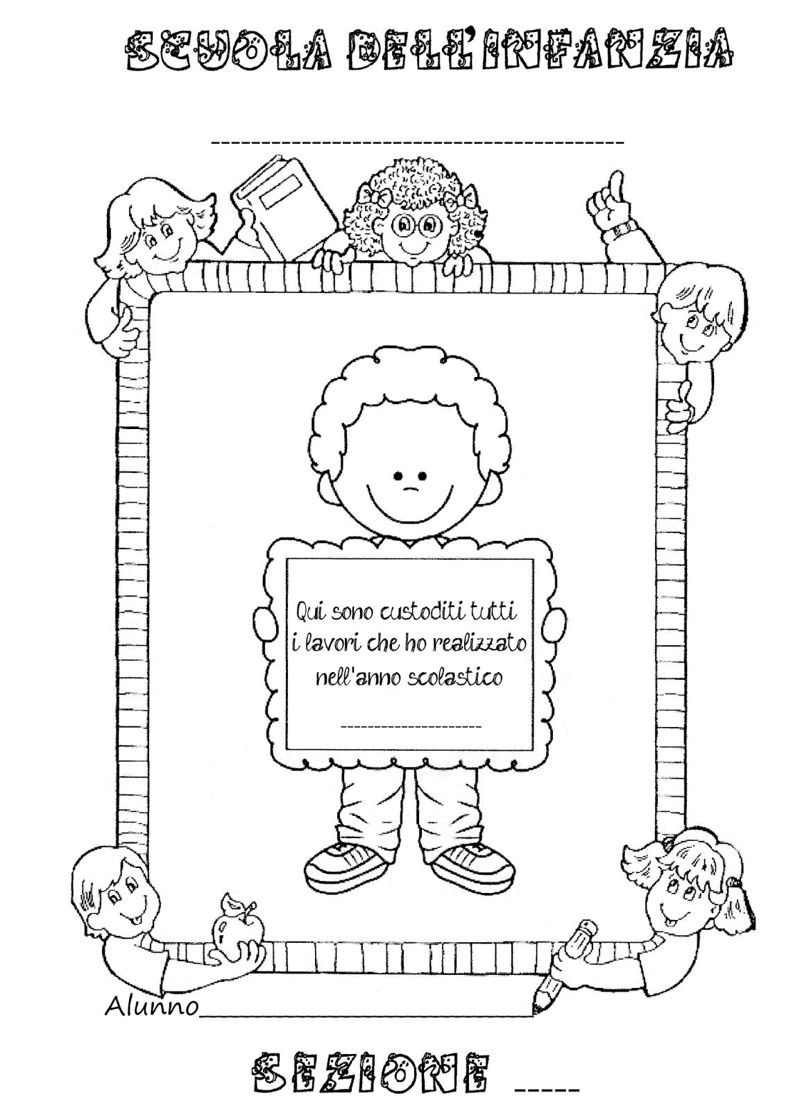 La maestra linda copertine per raccogliere i lavori dei for Maestra gemma diritti dei bambini