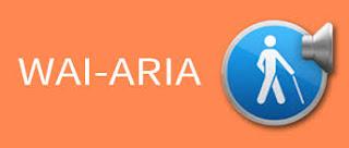 wai-aria es el complemento que hace que HTML5 sea más accesible