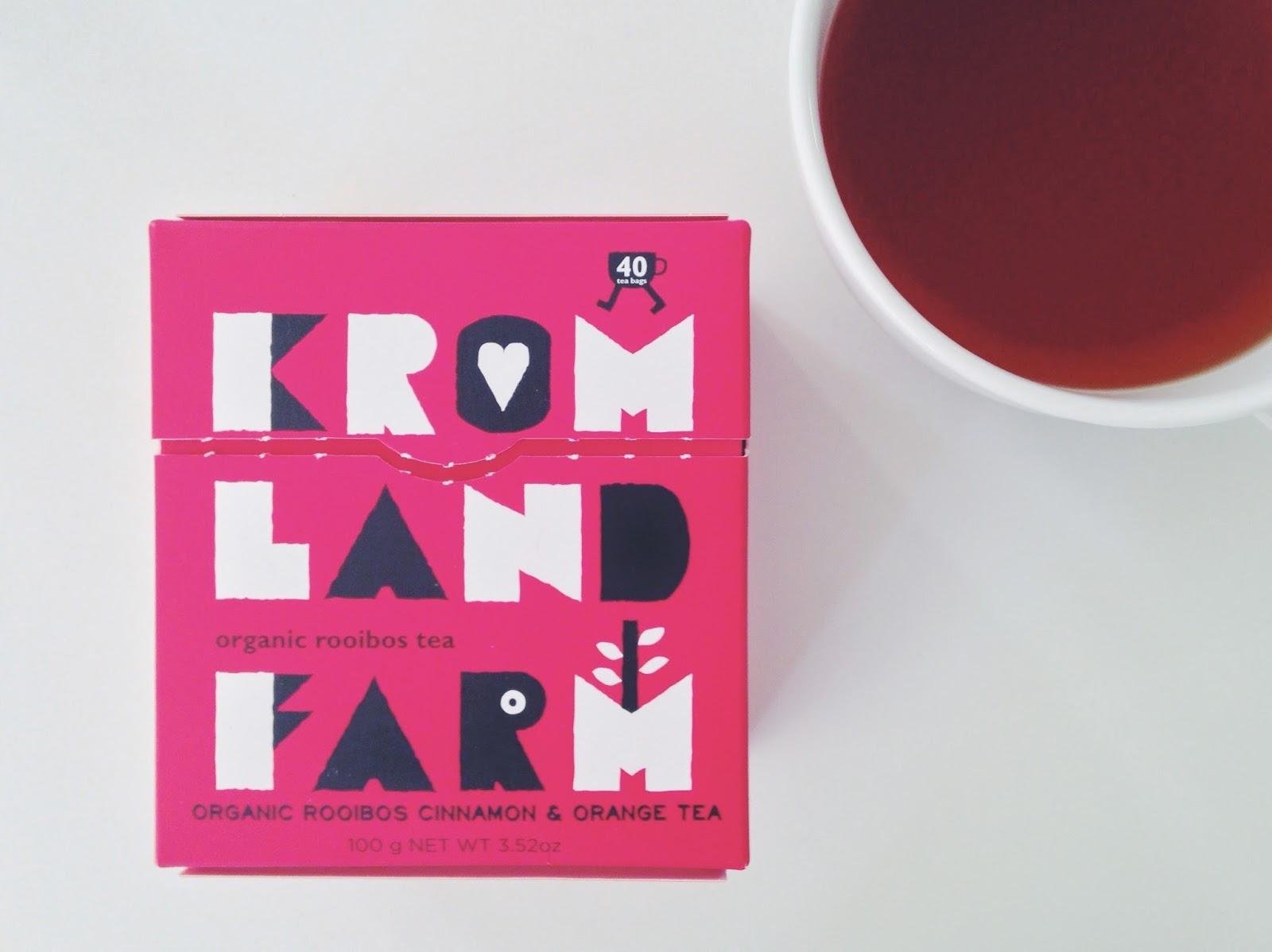 Caffeine free black tea - Kromland Farm organic rooibos tea