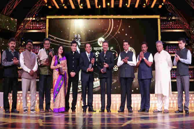 The 55th Maharashtra Marathi Film Award ceremony was held in Dimash
