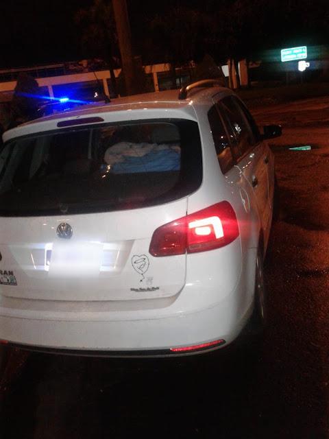 Posadas : La policía recuperó un VW Surán sustraído