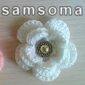 بالفيديو ; كروشيه وردة بعدة طبقات. كروشيه وردة بعدة طبقات. ورشة وردة متعددة الطبقات. crochet. fleure. crochet fleur