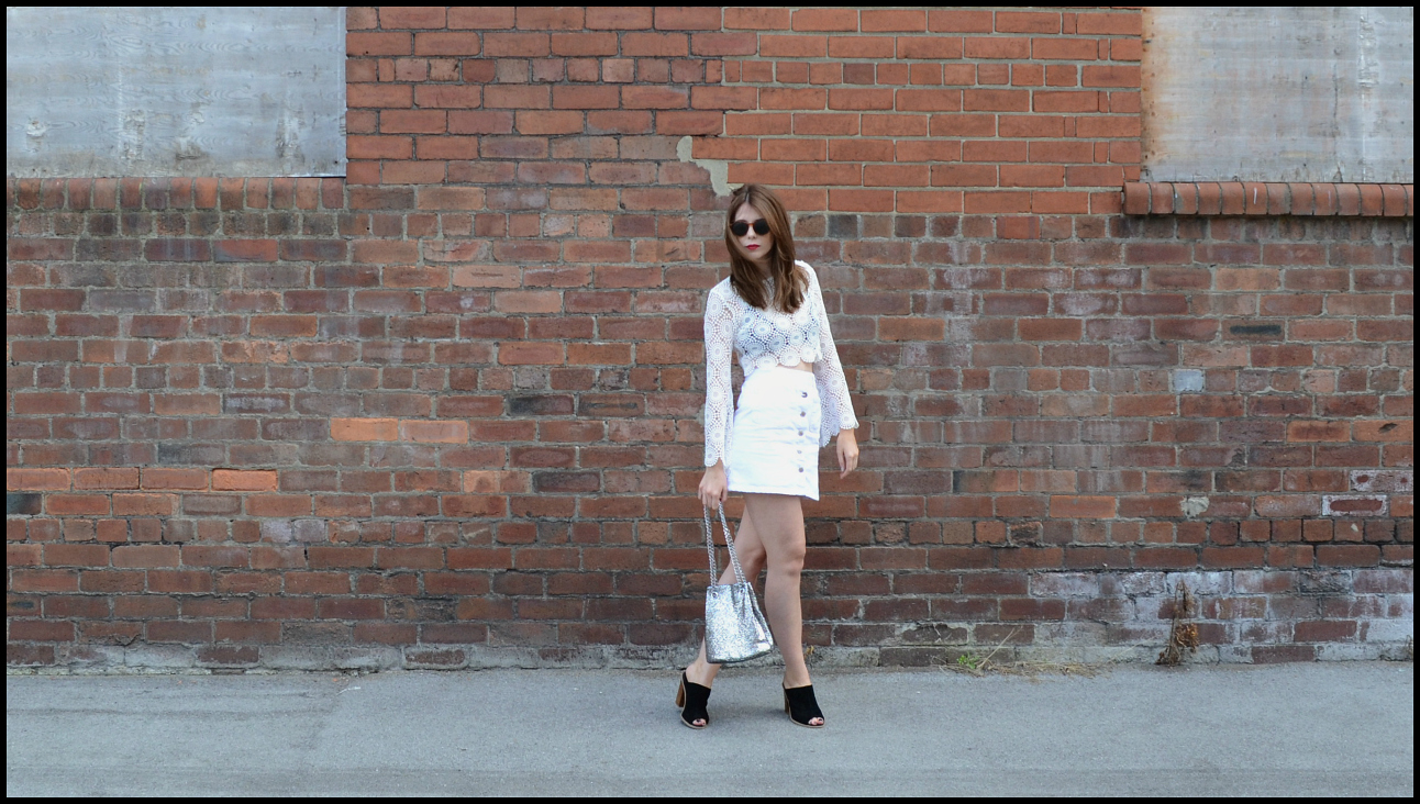 How to style an all white look