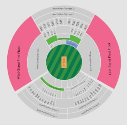 VIVO IPL 2019 Ticket Booking Rajiv Gandhi International Cricket Stadium, Hyderabad