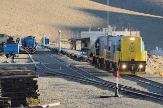 Doce nuevas locomotoras para el Trasandino del Norte entre Argentina y Chile