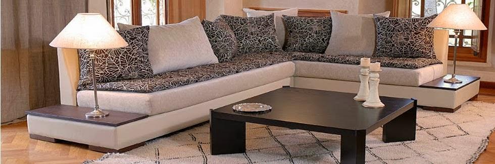 salon moderne marocain. Black Bedroom Furniture Sets. Home Design Ideas